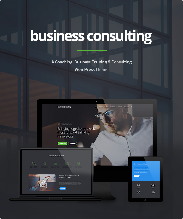 business2 - Business Consulting - Coaching, Business Training & Consulting WordPress Theme