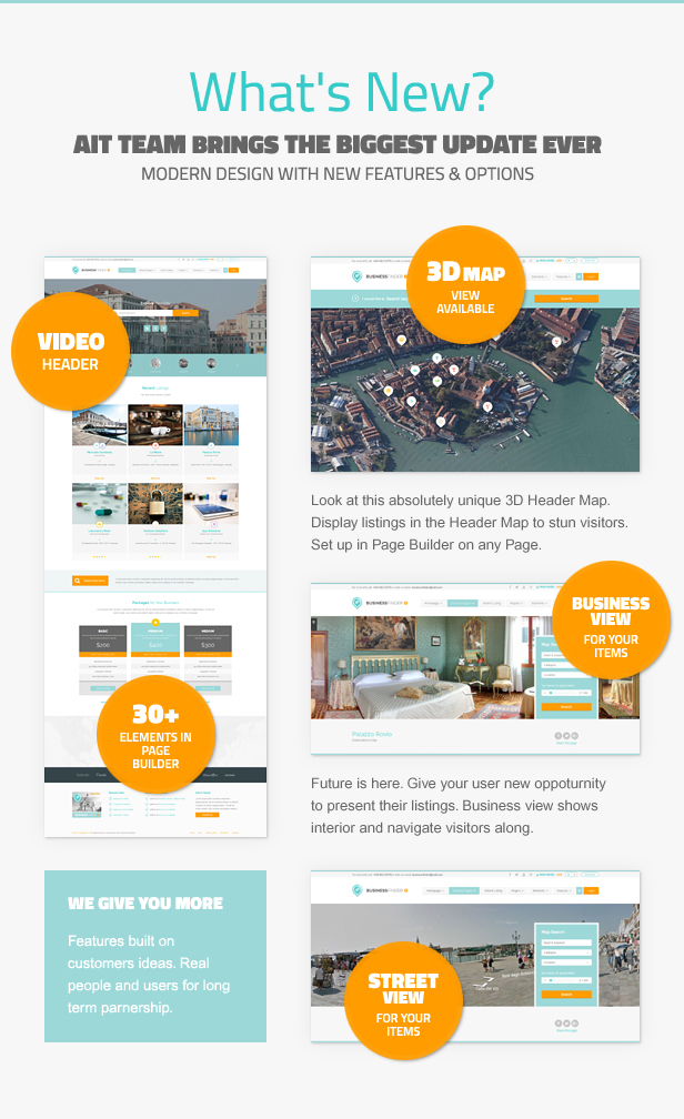 business3 - Business Finder: Directory Listing WordPress Theme