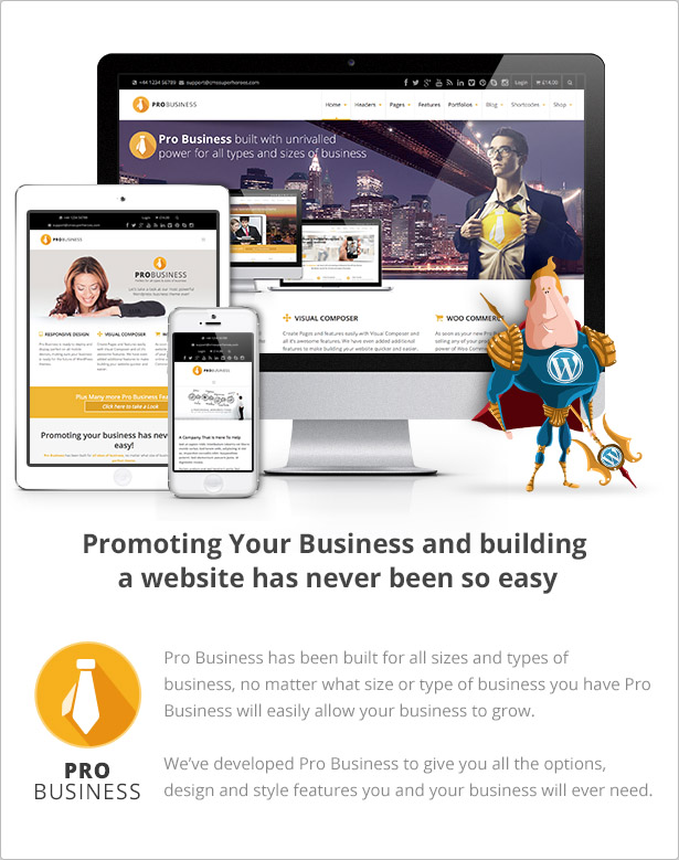 business4 1 - PRO Business - Responsive Multi-Purpose Theme