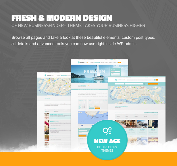 business4 - Business Finder: Directory Listing WordPress Theme