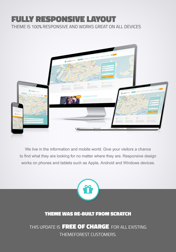 business5 - Business Finder: Directory Listing WordPress Theme
