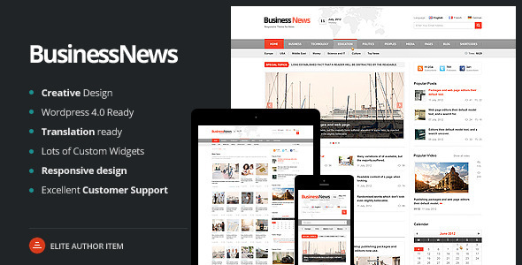 bussines - Business News - Responsive Magazine, News, Blog