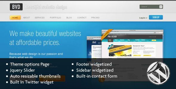 bvdbeautiful - BVD-Beautiful Website Design-Wordpress