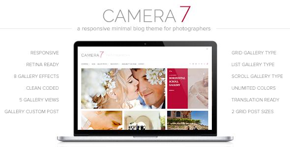 camera - Camera 7 - Minimal Photography WordPress Theme