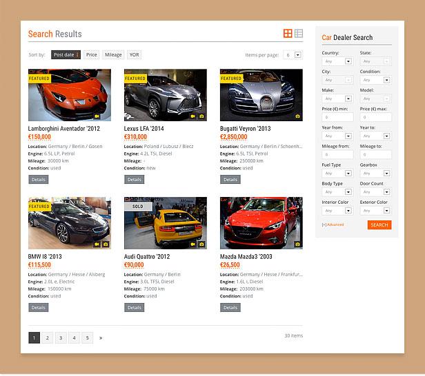 car6 - Car Dealer Automotive WordPress Theme – Responsive
