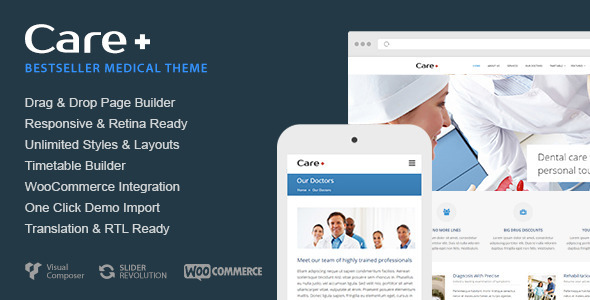 care - Care - Medical and Health Blogging WordPress Theme
