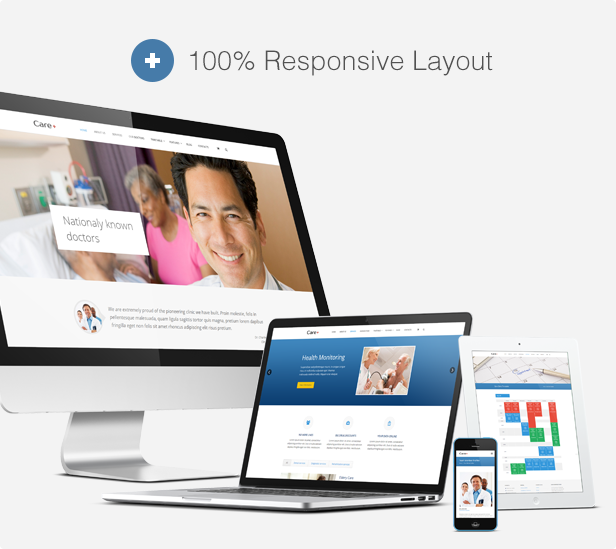 care4 - Care - Medical and Health Blogging WordPress Theme