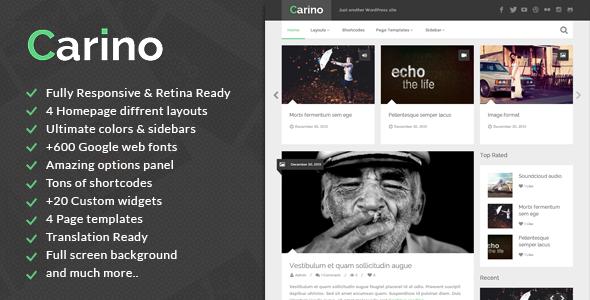 carino - Carino - Retina Responsive WordPress Blog Theme