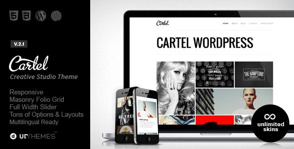 cartel - Cartel - Responsive Portfolio WordPress Theme