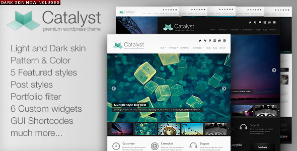 catalyst - Catalyst Wordpress Portfolio Theme