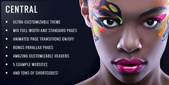 central - Central - Versatile, Multi-Purpose WordPress Theme