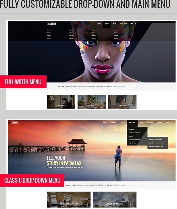central2 - Central - Versatile, Multi-Purpose WordPress Theme