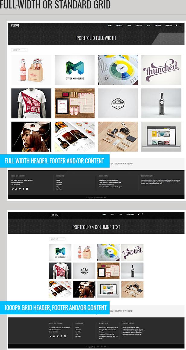 central4 - Central - Versatile, Multi-Purpose WordPress Theme