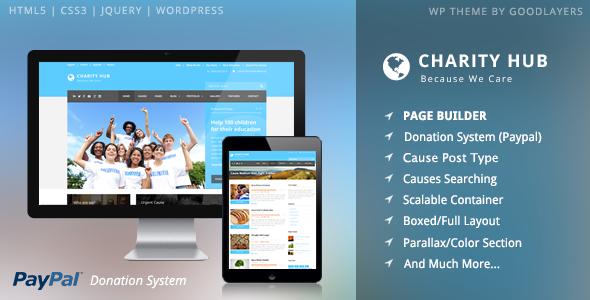 charity - Charity Hub - Charity / Nonprofit / Fundraising WP