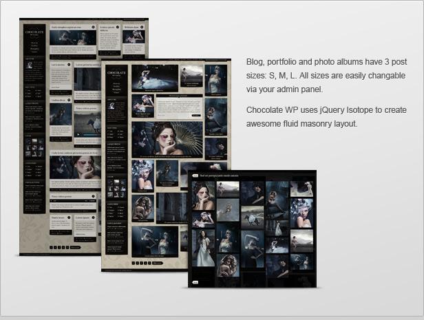 chocolate3 - Chocolate WP – Responsive Photography Theme