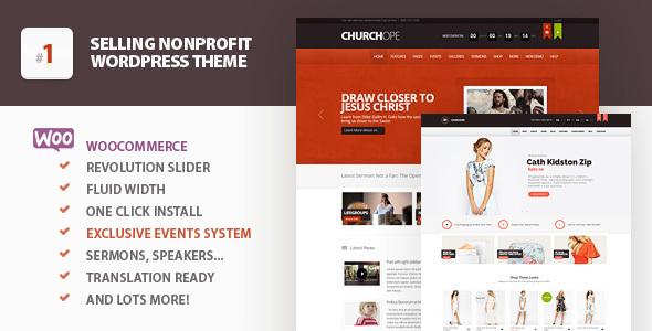 churchope - ChurcHope - Responsive WordPress Theme
