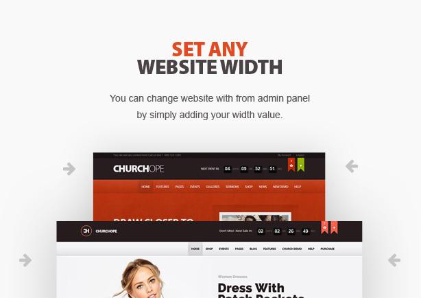 churchope4 - ChurcHope - Responsive WordPress Theme