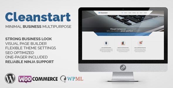 cleanstart - CLEANSTART Business - Multipurpose Business Theme