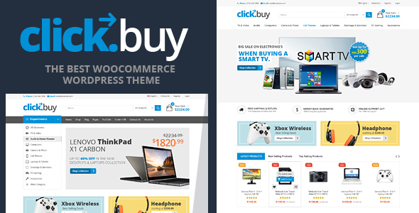 clickbuy - Clickbuy - WooCommerce Responsive Digital Theme