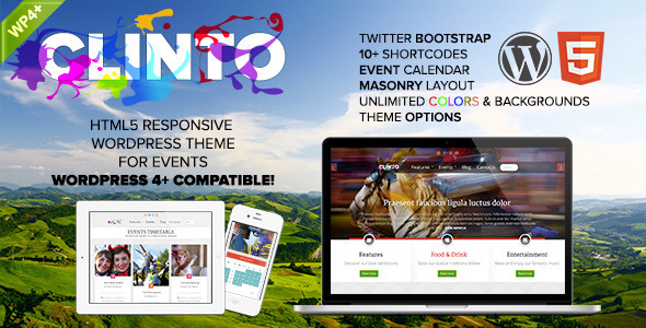 clinto - Clinto - HTML5 Responsive WordPress Theme for Events