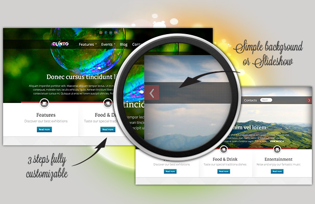 clinto3 - Clinto - HTML5 Responsive WordPress Theme for Events