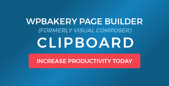 clipboard - WPBakery Page Builder (Visual Composer) Clipboard