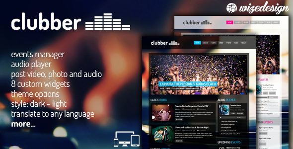 clubber - Clubber - Events & Music WordPress Theme