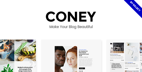 coney - Coney - A Trendy Theme for Blogs and Magazines