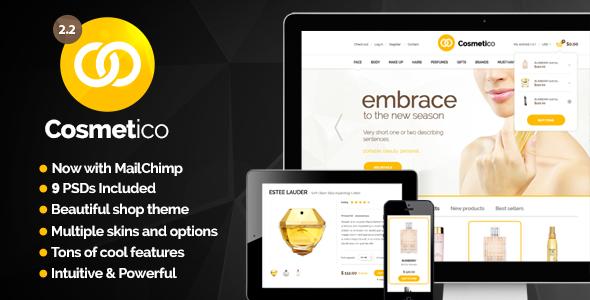 cosmetico - Cosmetico - Responsive eCommerce WordPress Theme