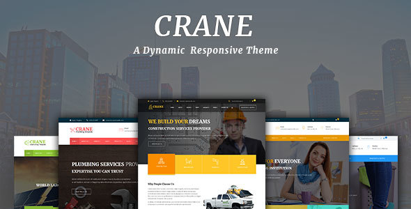 crane - Crane - Multipurpose WordPress Theme