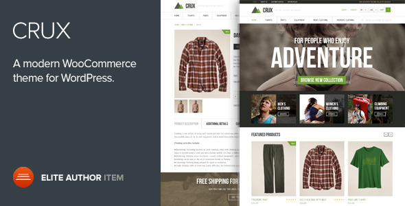 crux - Crux - A modern and lightweight WooCommerce theme