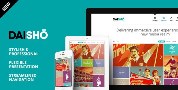 daisho - Daisho - Flexible WordPress Portfolio Theme