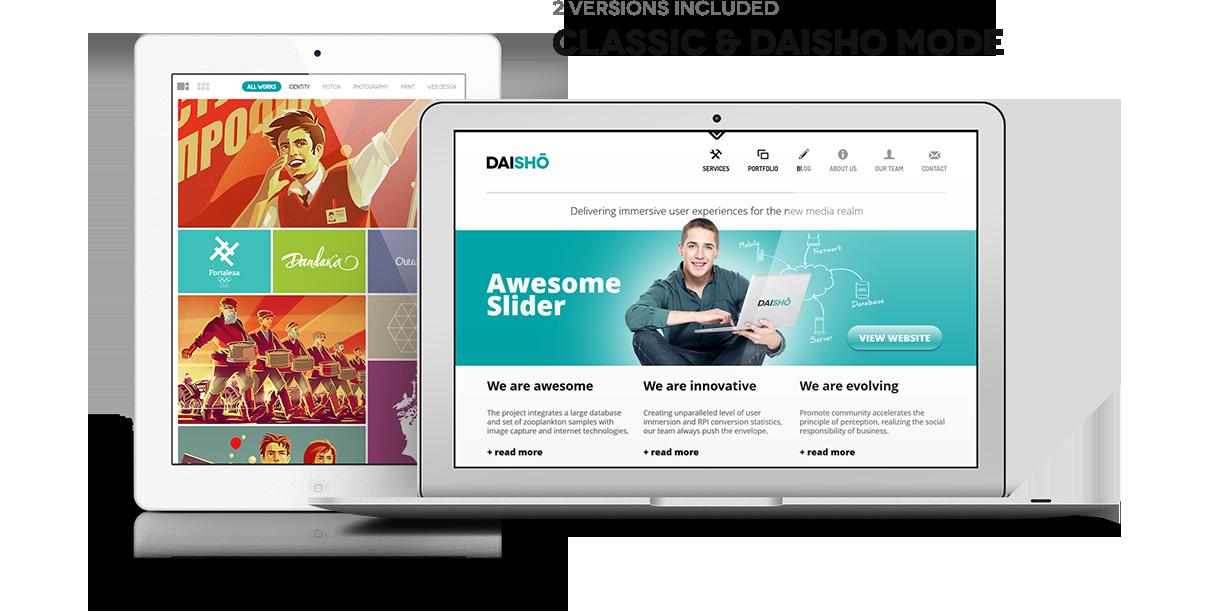 daisho2 - Daisho - Flexible WordPress Portfolio Theme