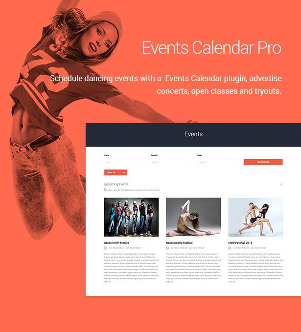 dance studio4 - Dance Studio - WordPress Theme for Dancing Schools & Clubs