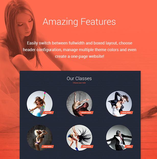 dance studio6 - Dance Studio - WordPress Theme for Dancing Schools & Clubs