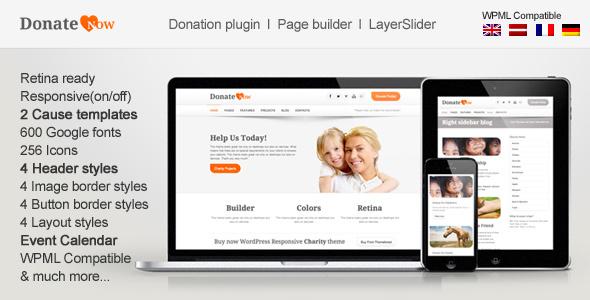donatenow - DonateNow | WordPress Theme for Charity