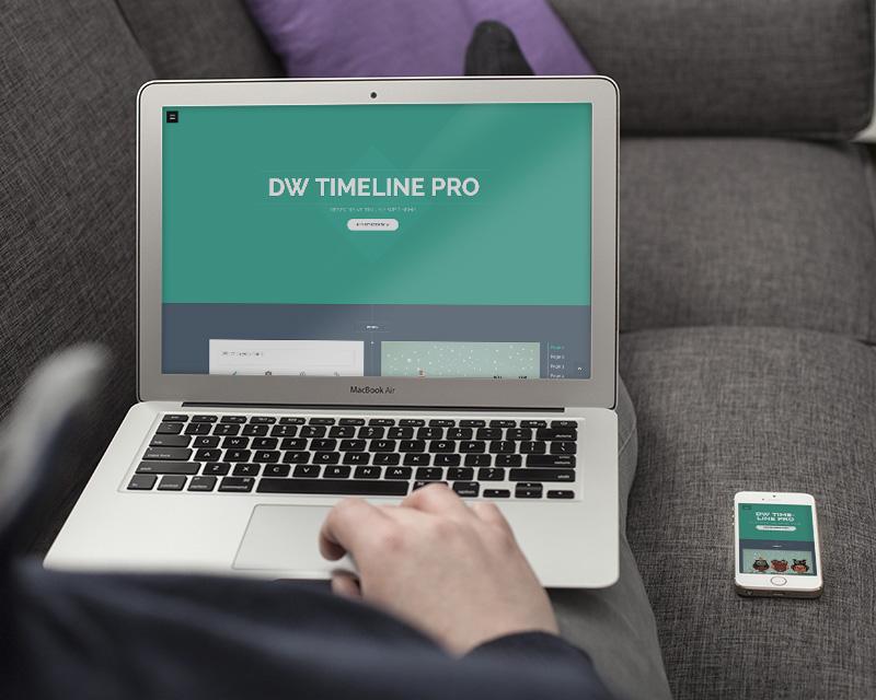 dw timeline pro3 - DW Timeline Pro - Reponsive Timeline WordPress Theme
