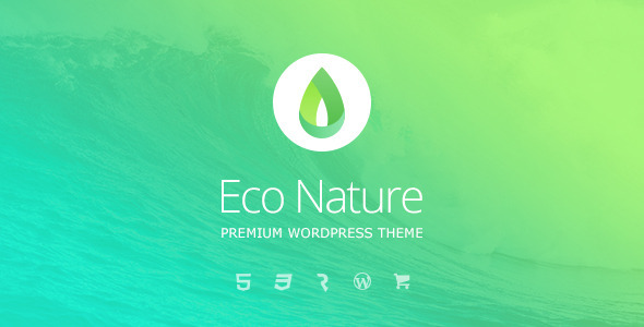 eco 1 - Eco Nature - Environment & Ecology WordPress Theme