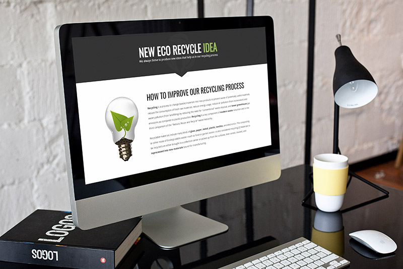 eco3 - Eco Recycling - Ecology & Nature WordPress Theme