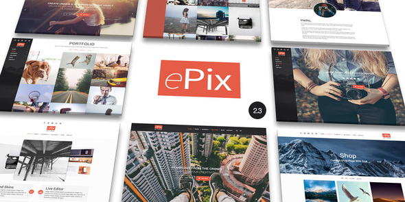 epix 1 - ePix - Fullscreen Photography WordPress Theme