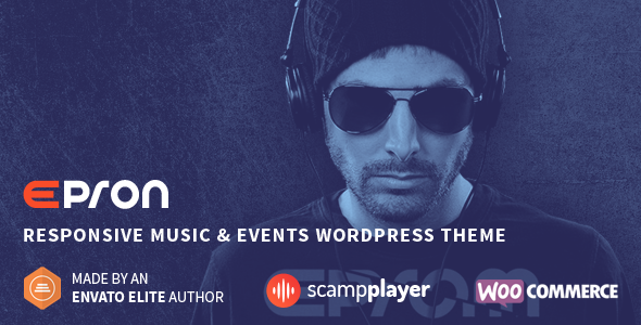 eprom - Epron - Responsive Music & Events WordPress Theme