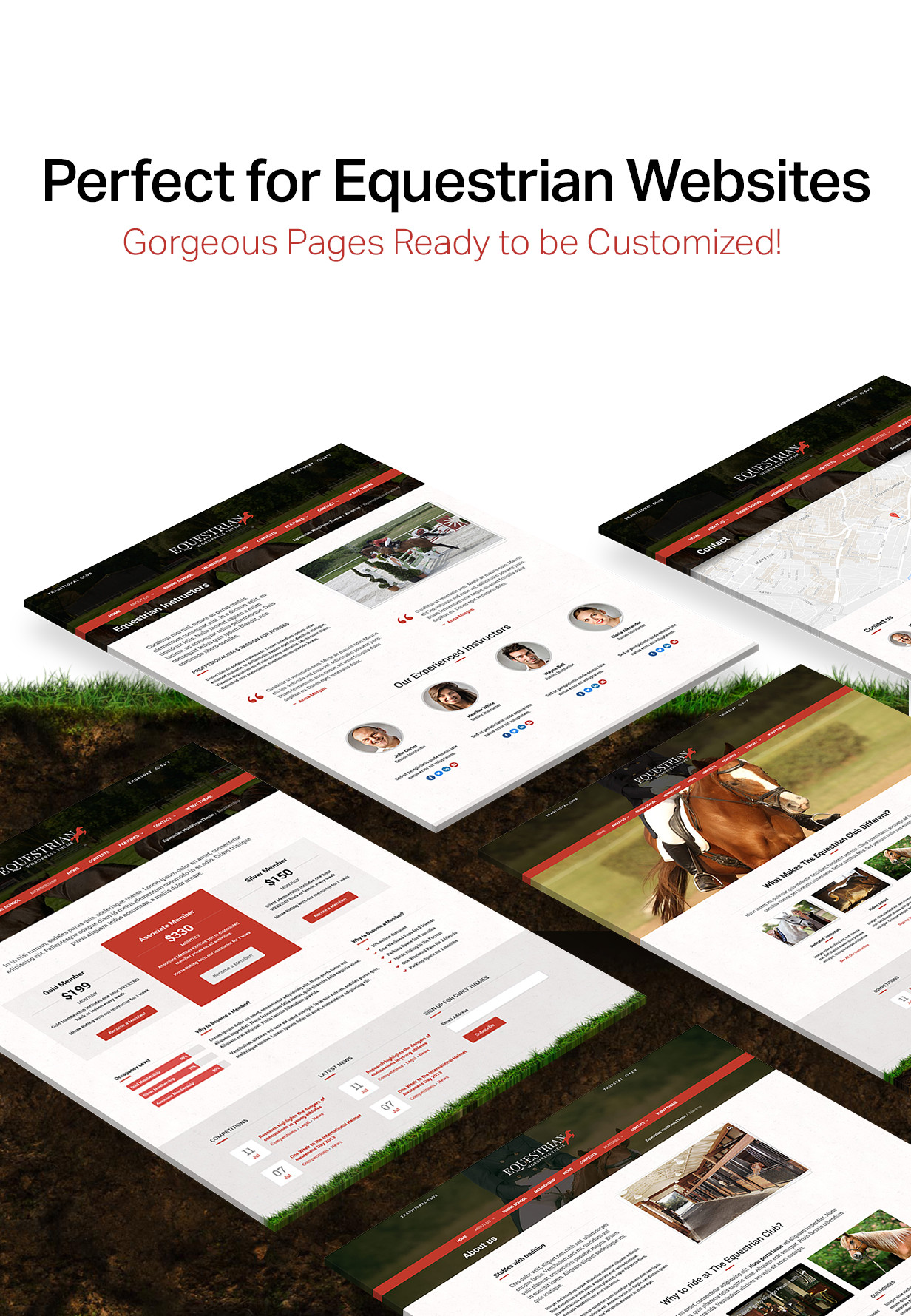 equestrian2 - Equestrian - Horses and Stables WordPress Theme