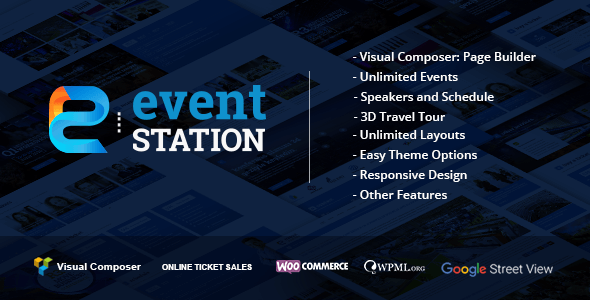 event station - Event Station - Event & Conference WordPress Theme