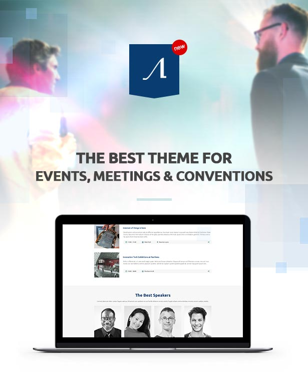 event2 - Event, Meeting, Convention & more - Aeron WordPress Theme