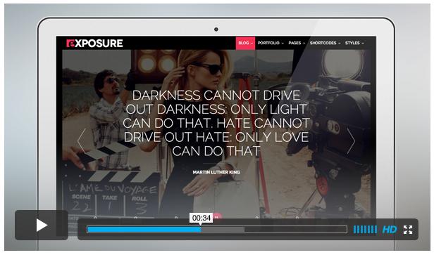 exposure2 - Exposure, Fullscreen Responsive Photography theme