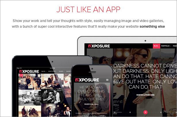 exposure3 - Exposure, Fullscreen Responsive Photography theme