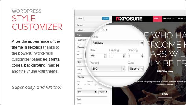 exposure4 - Exposure, Fullscreen Responsive Photography theme