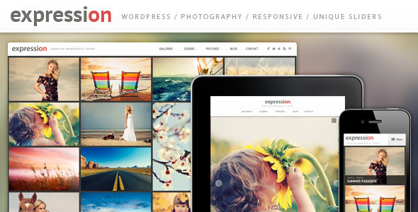 expression - Expression Photography Responsive WordPress Theme