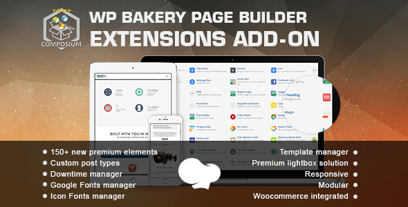 extensions - Composium - WP Bakery Page Builder Extensions Addon (formerly for Visual Composer)