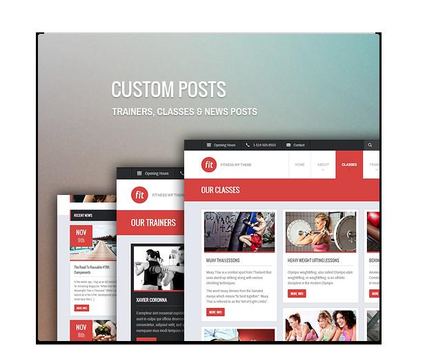 fit3 - FIT - Fitness/Gym Responsive WordPress Theme
